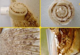 Tereyağlı Ballı Kahvaltı Çörekleri Tarifi